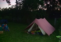 Nuit sous-tente