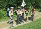 Camp d'été 2015 à Vers l'Eglise - Troupe