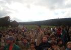 De nombreux scouts sont là