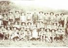 Sans doute la première photo du groupe (191?)